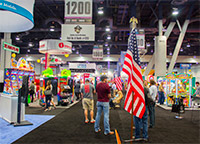 The Amusement Expo International show