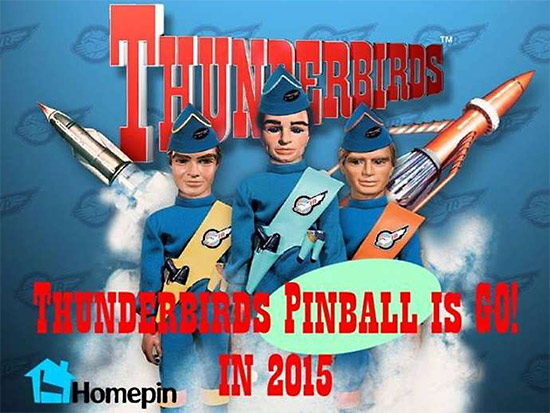 Homepin's Thunderbirds
