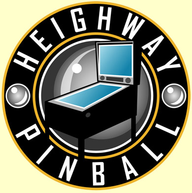 The Heighway Pinball logo