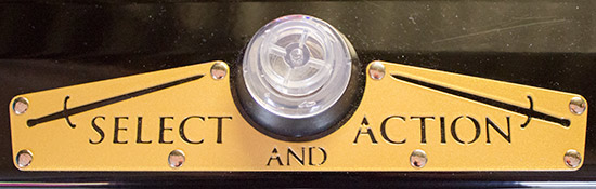 The lock bar and action button