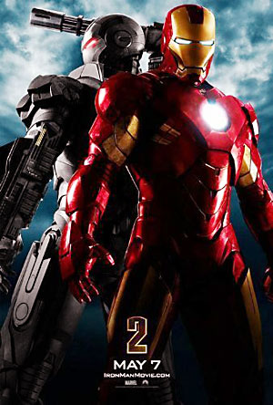 Movie poster for Iron Man 2