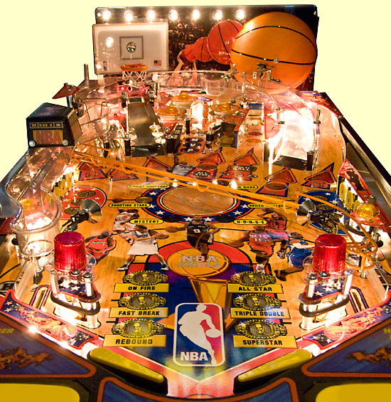 The whole NBA playfield