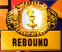 The rebound ring is lit