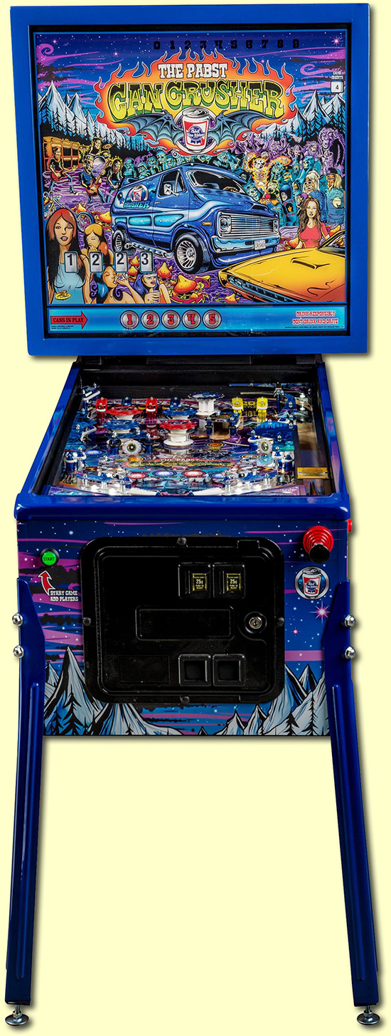 The front of the game