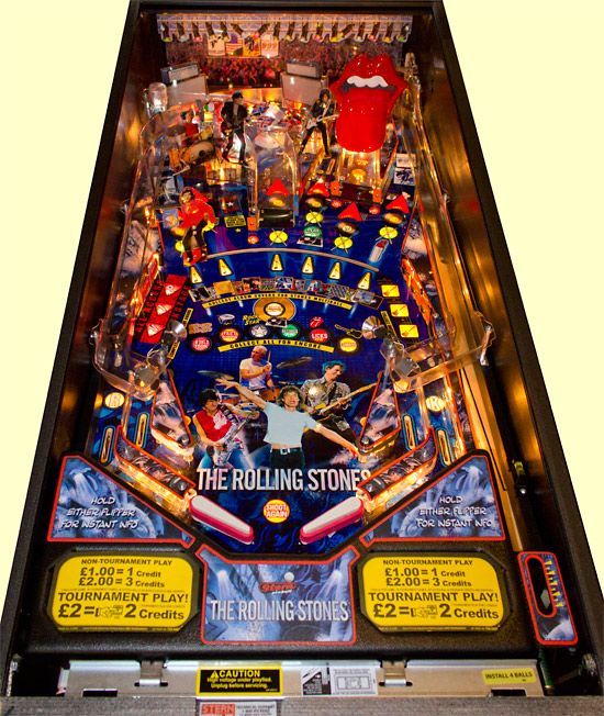 The Rolling Stones' sample playfield