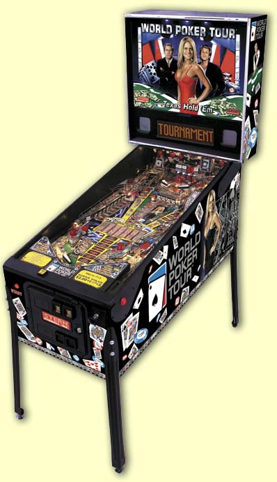 Apart from the imagery on the playfield plastics and metal parts, the look is unchanged from the preliminary picture we featured earlier