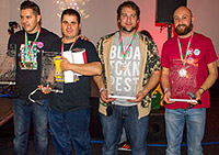The winners of the Hungarian Pinball Open 2016