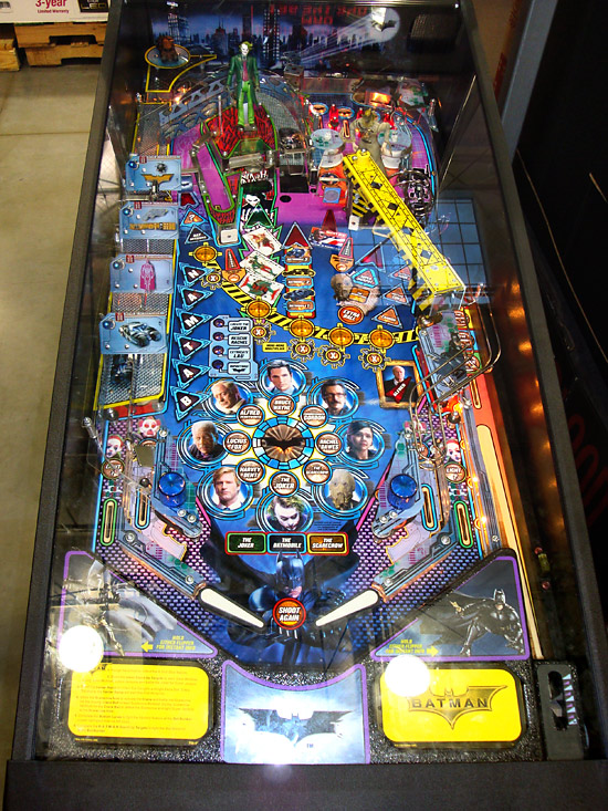 The reduced Batman playfield