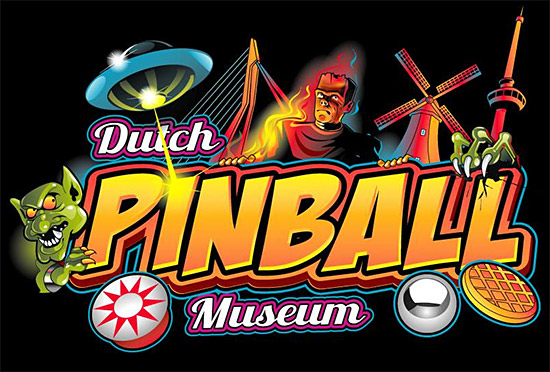 The Dutch Pinball Museum logo