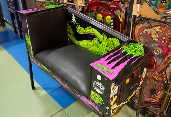 Take a seat, courtesy of The Creature from the Black Lagoon