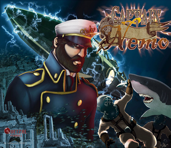 Quetzal Pinball's Captain Nemo Dives Again