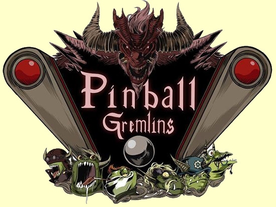 The Pinball Gremlins logo