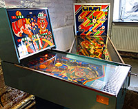 Russian pinball machines