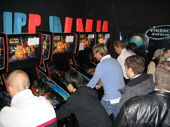 The EPC 2006 tournament machines