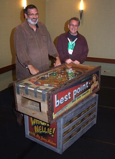 Dennis and Greg at Pinball Expo 2009