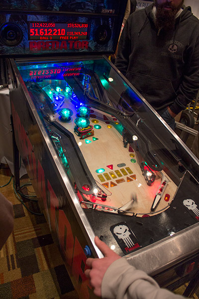 Predator at Pinball Expo 2012