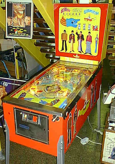Questions Concerning A Rolling Stones Pinball Game And