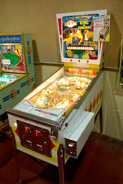 Retro Pinball's King of Diamonds