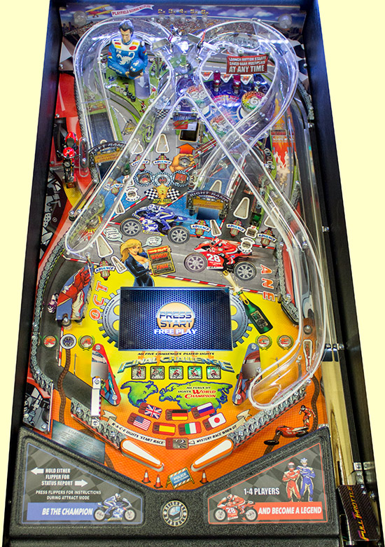 The Full Throttle playfield