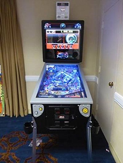 Full Throttle in the Pinball Classics room