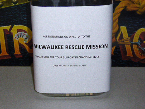 All proceeds go to help house, clothe, feed and train Milwaukee's homeless