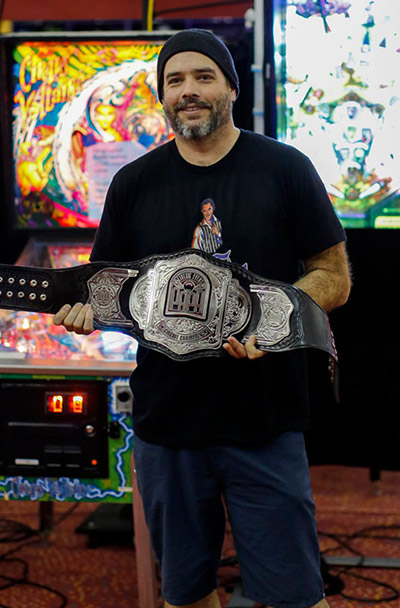 Keith Elwin with his PAPA Circuit Champion belt