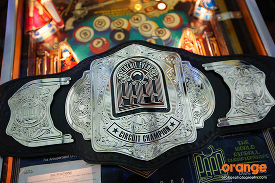 PAPA Circuit Champion belt