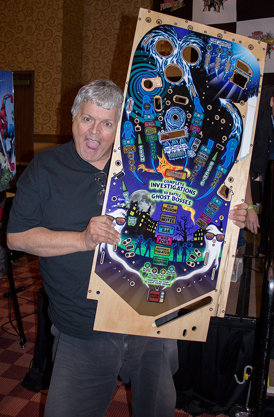 Steven with his playfield prize