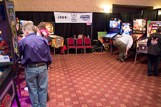 Machines from 1984, Queen City Pinball and Ozark Pinball Syndicate