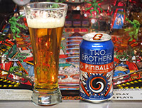 A new pinball-themed beer is released