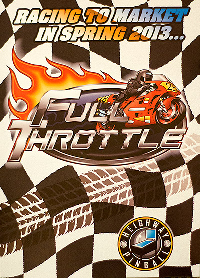 The Full Throttle flyer