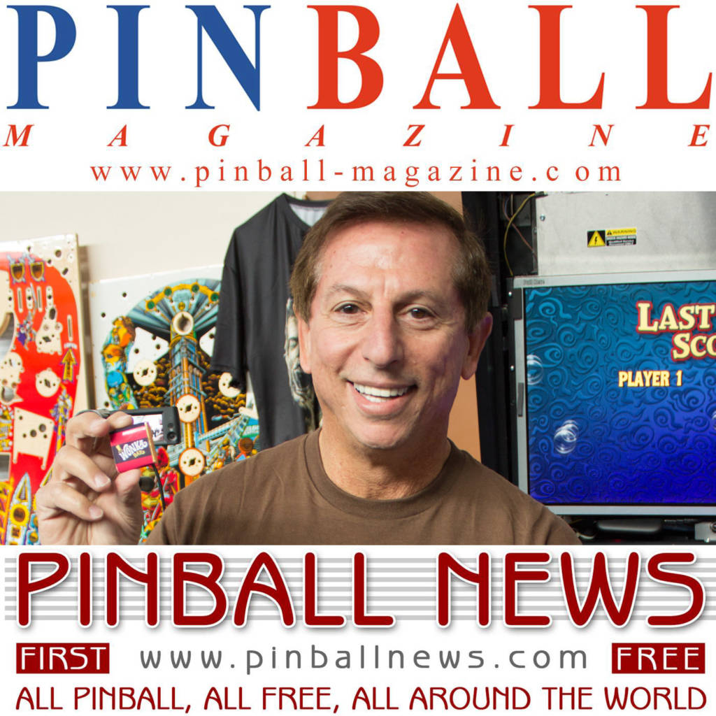 Our special bonus podcast interview with Jack Guarnieri of Jersey Jack Pinball