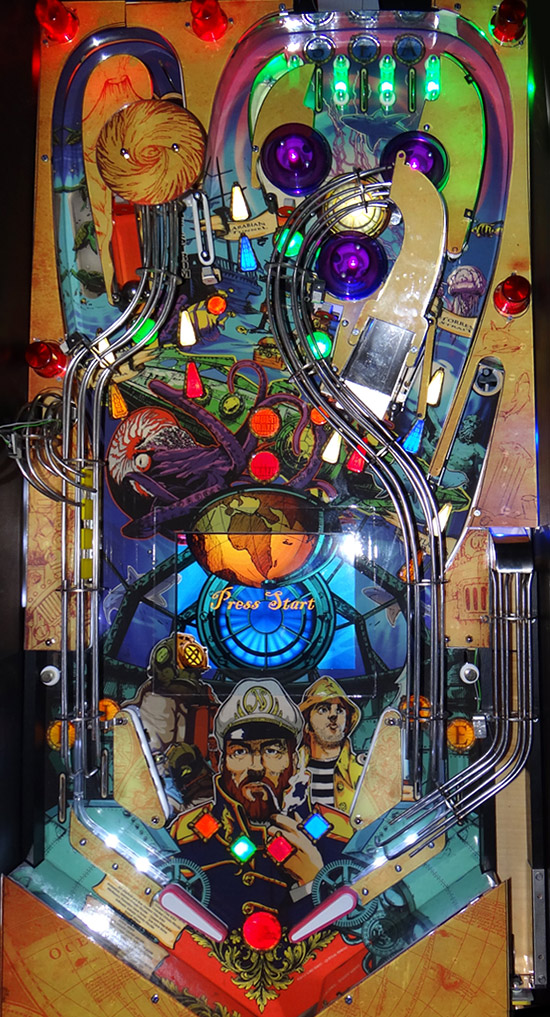 The Captain Nemo playfield