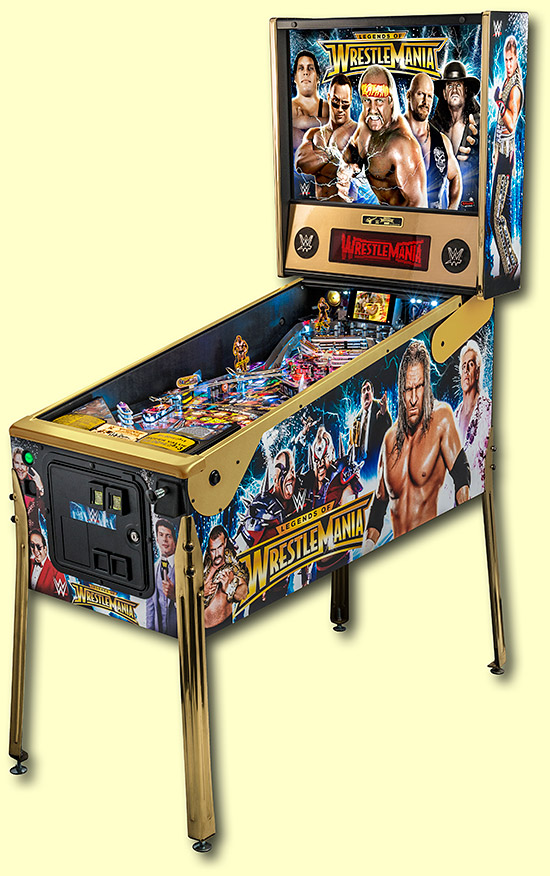 The Limited Edition of WWE Wrestlemania