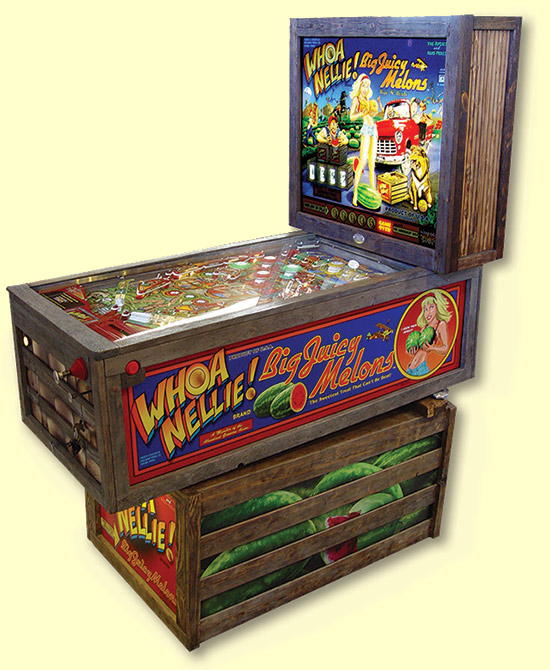 WhizBang Pinball's Whoa Nellie! Big Juicy Melons
