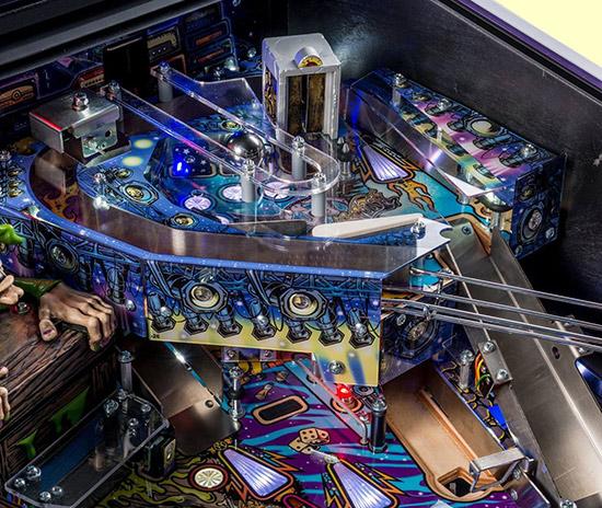 The toy box on the Aerosmith LE playfield