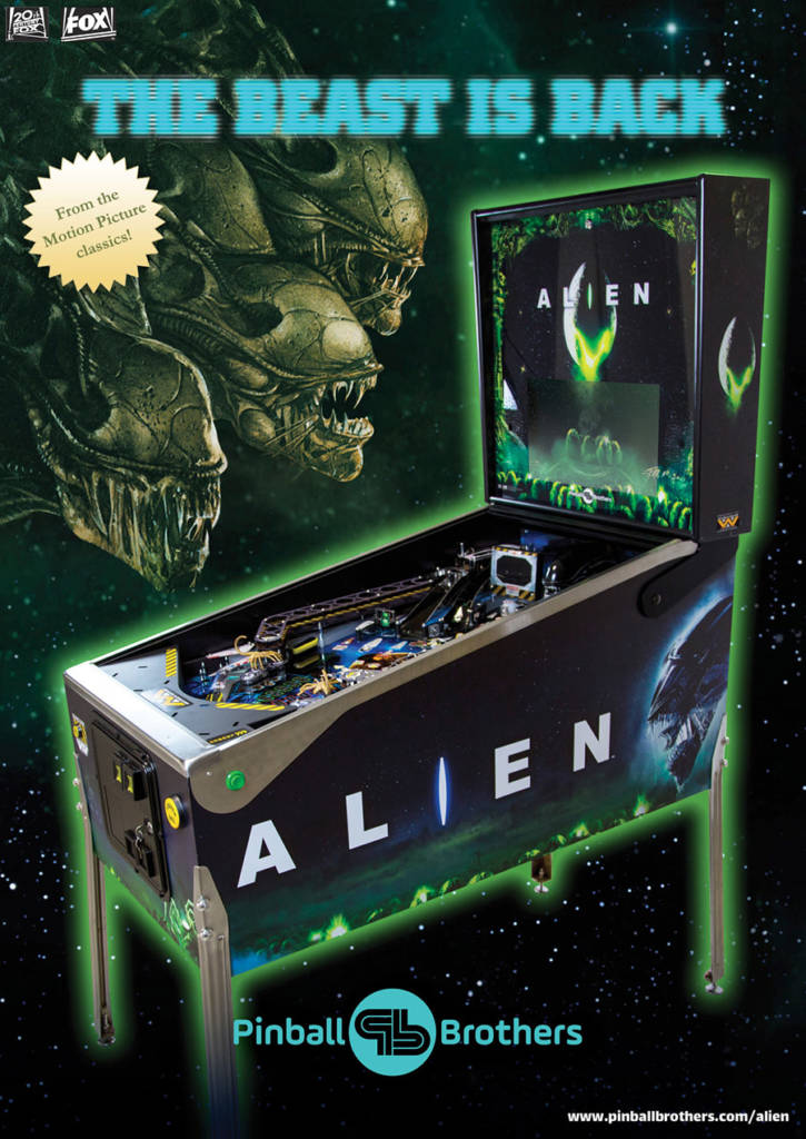 The flyer for the Alien remake