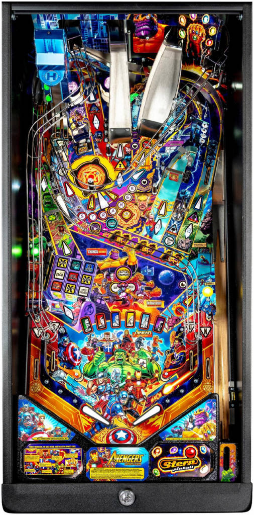 The playfield from the Pro model