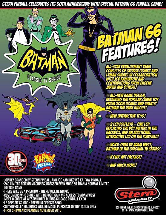The Batman '66 flyer