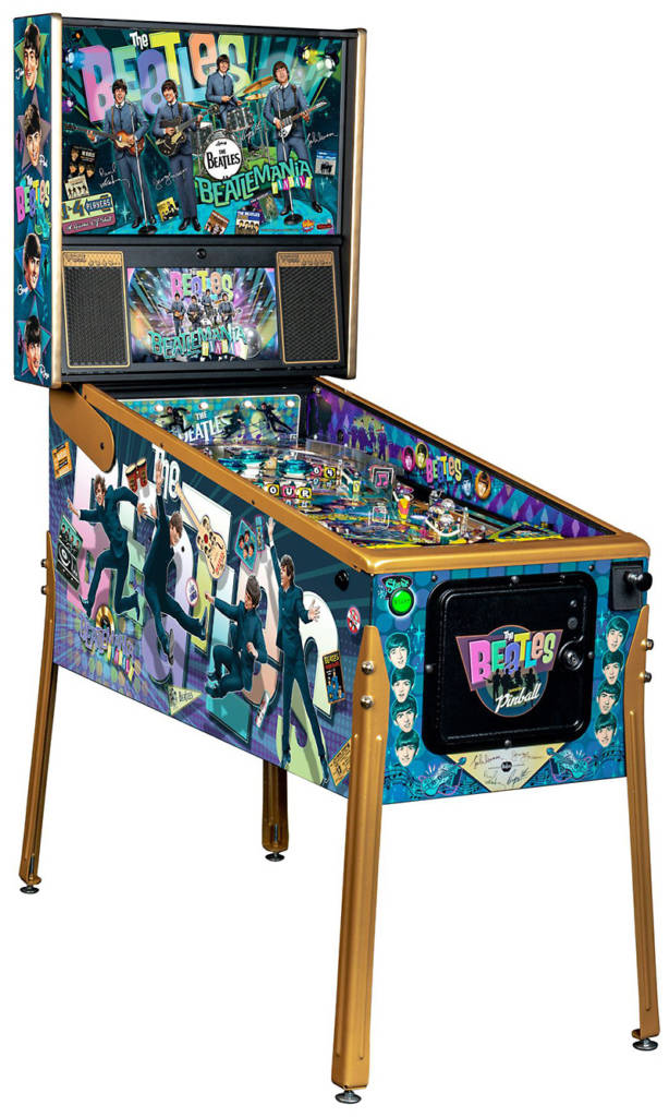 The Beatles: Beatlemania Pinball Gold Edition