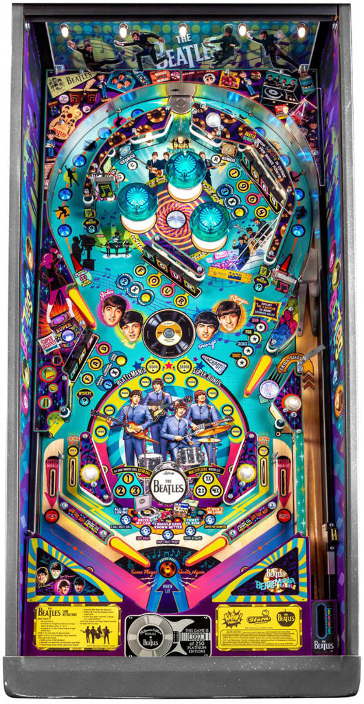 The Platinum Edition playfield
