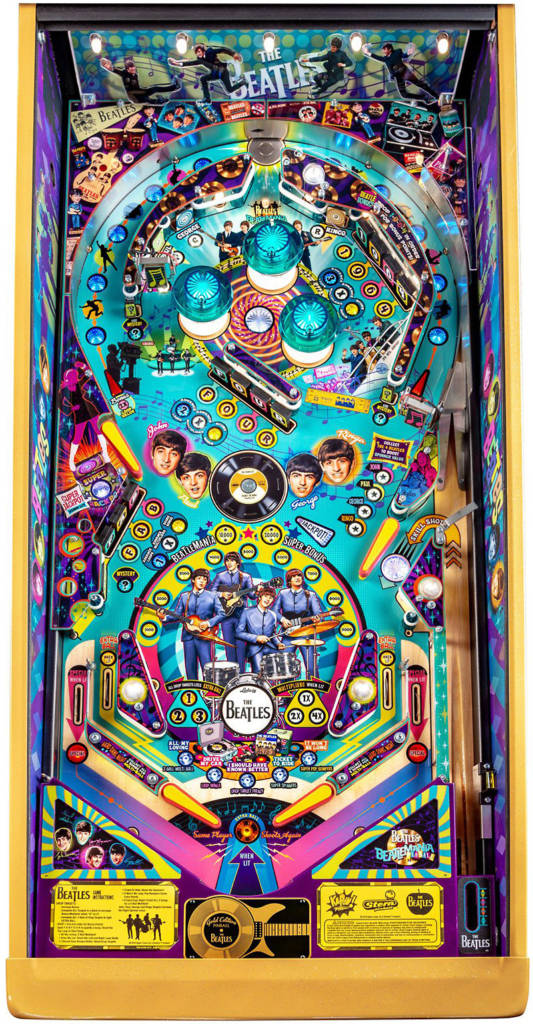 The Gold Edition playfield