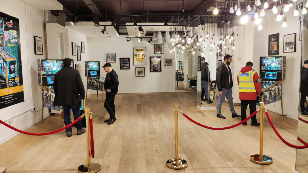 Inside the Beatles store