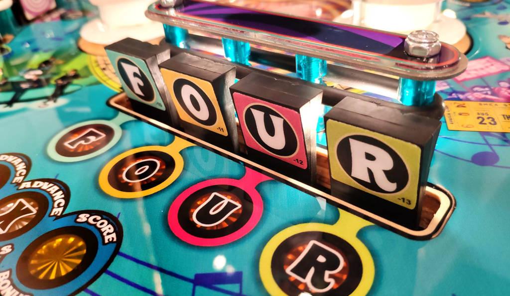 The F-O-U-R drop targets