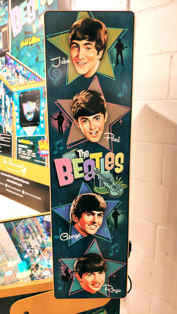 The backbox artwork