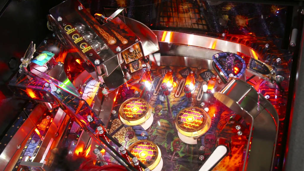 Three balls are locked, so time for multiball