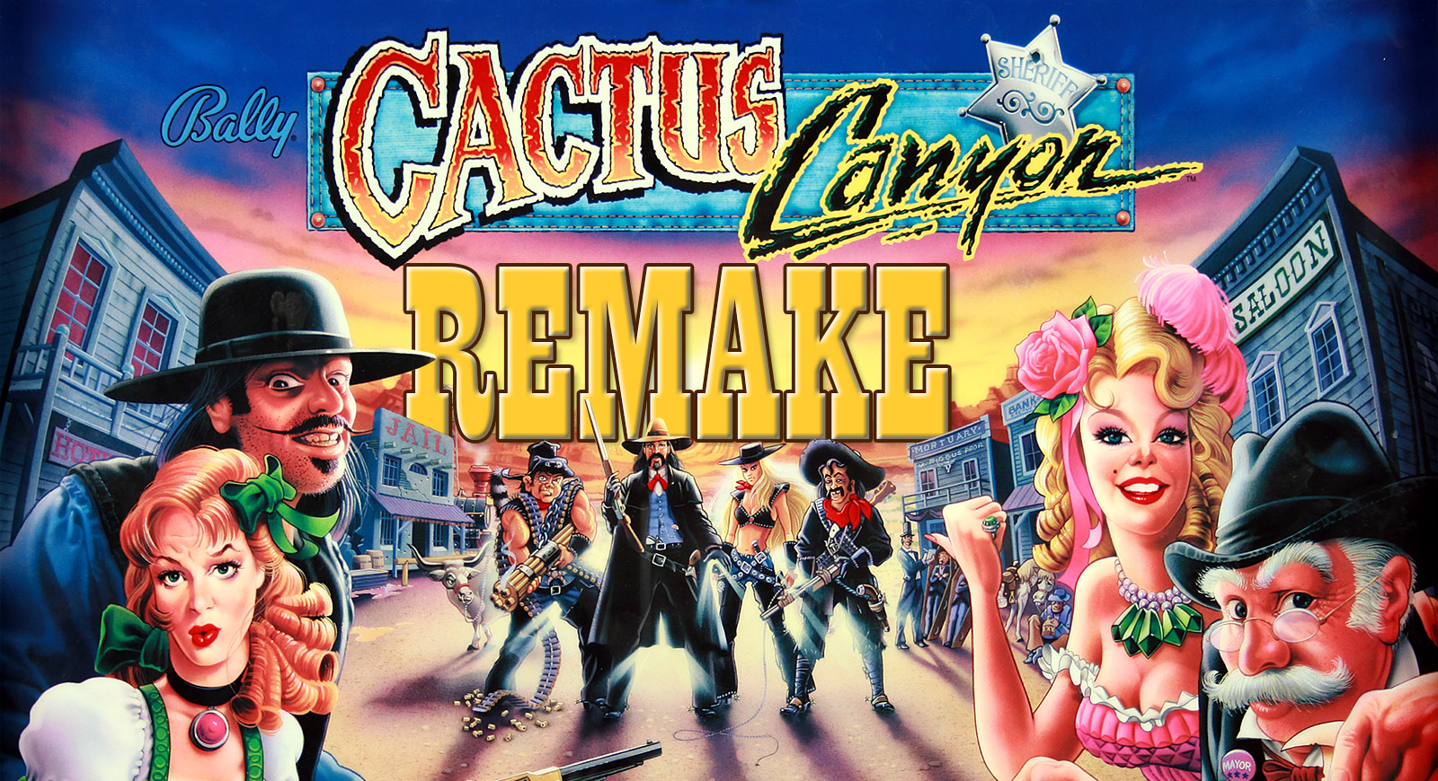 Cactus Canyon Remake is confirmed