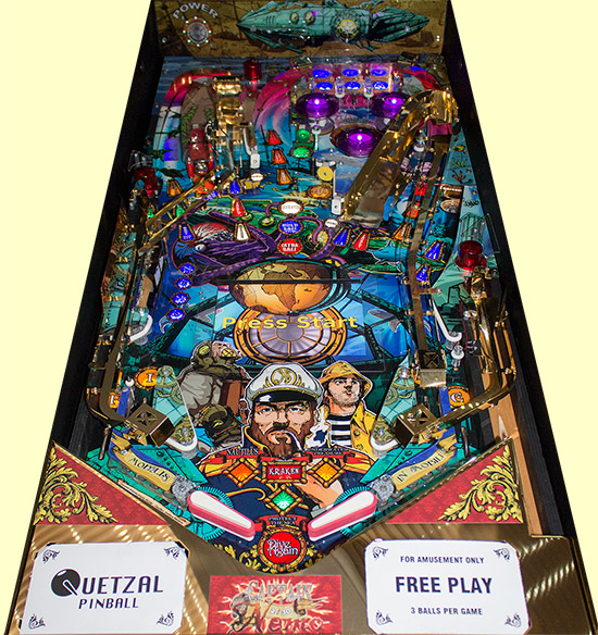 The Nemo playfield