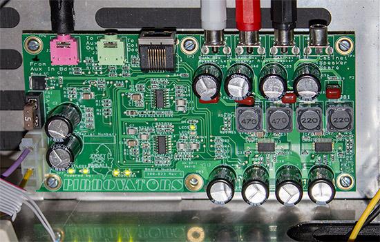 The Pinnovators audio board