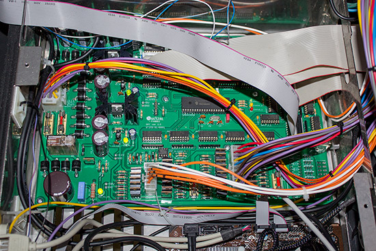 The custom Quetzal Pinball Controller power driver board